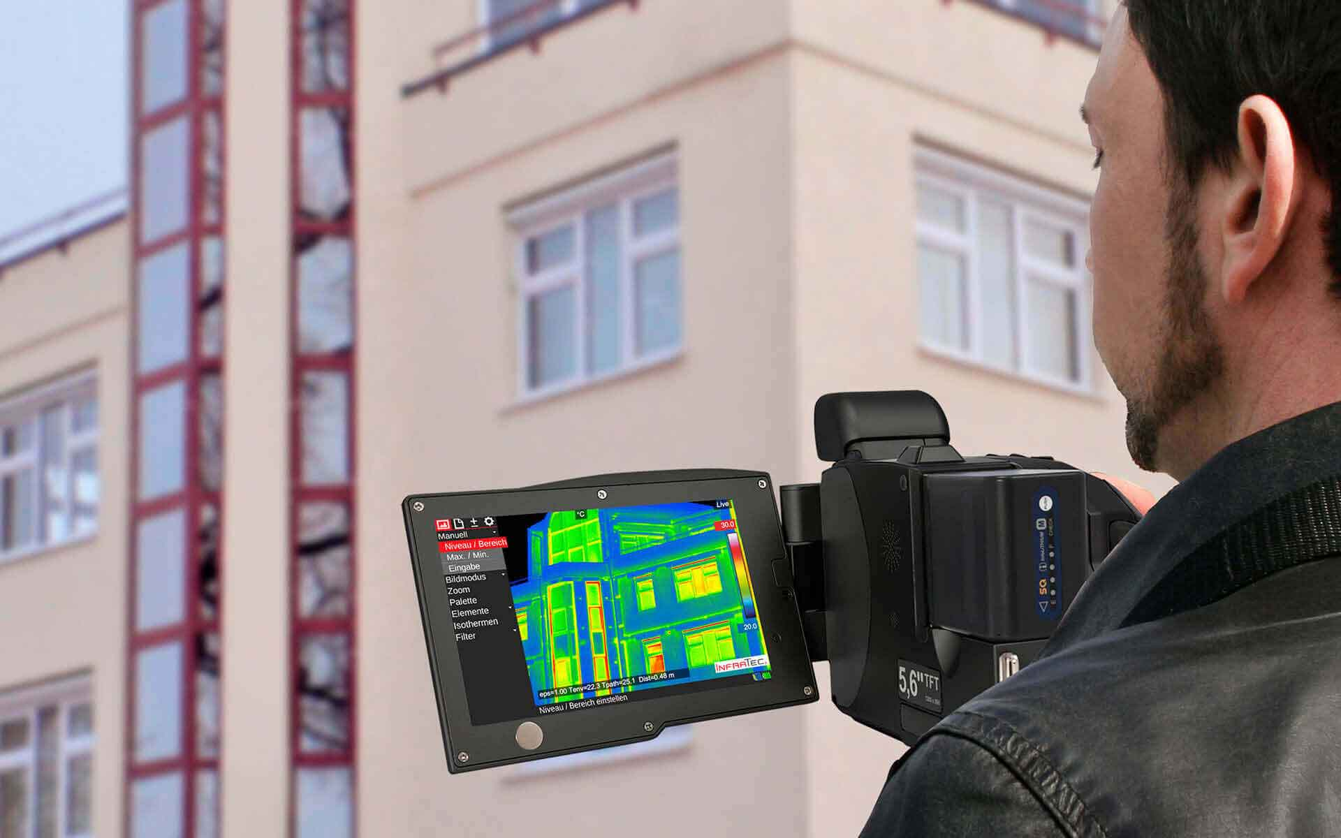 Building thermography - VarioCAM® HDx