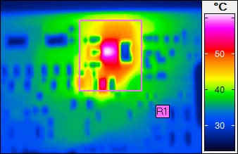 InfraTec reference - Thermography in electronics development