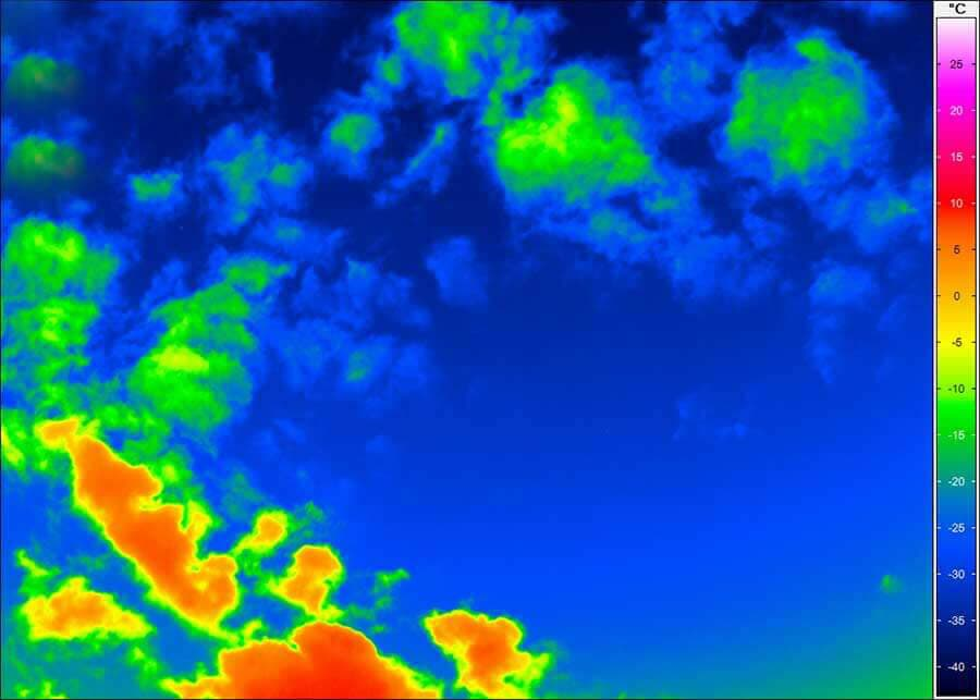 thermal imaging for climate research