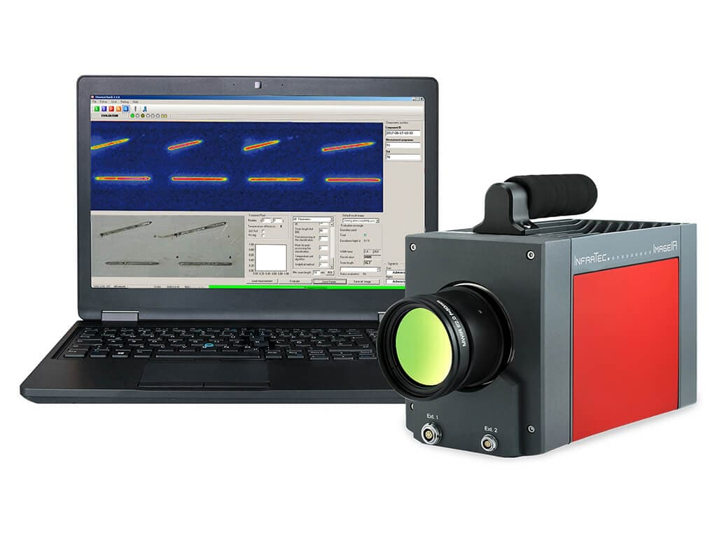 Active thermography with ImageIR® from InfraTec