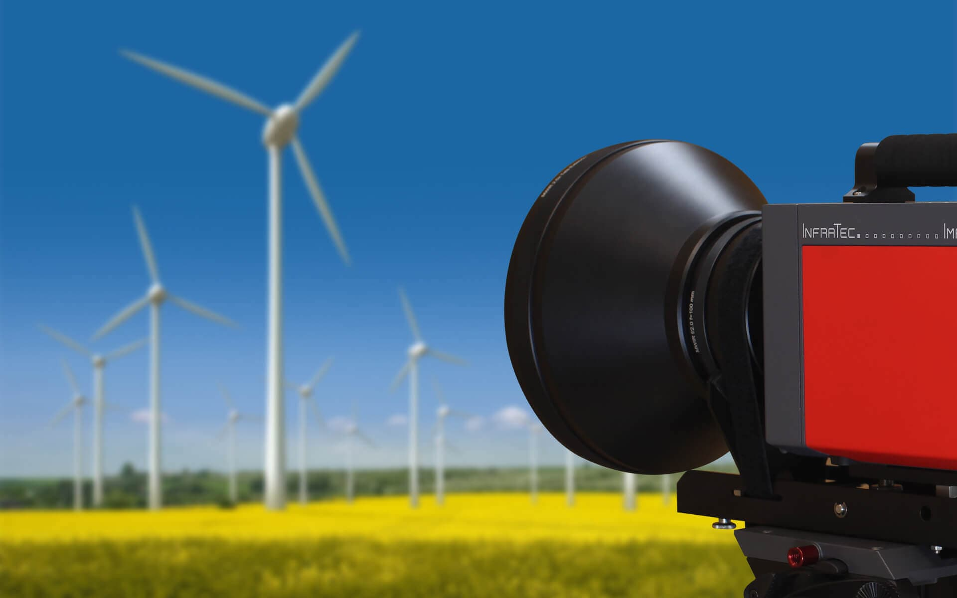 Using Thermography for Optimisation of Installed Wind Turbines - Picture Credits: © visdia / Fotolia.com