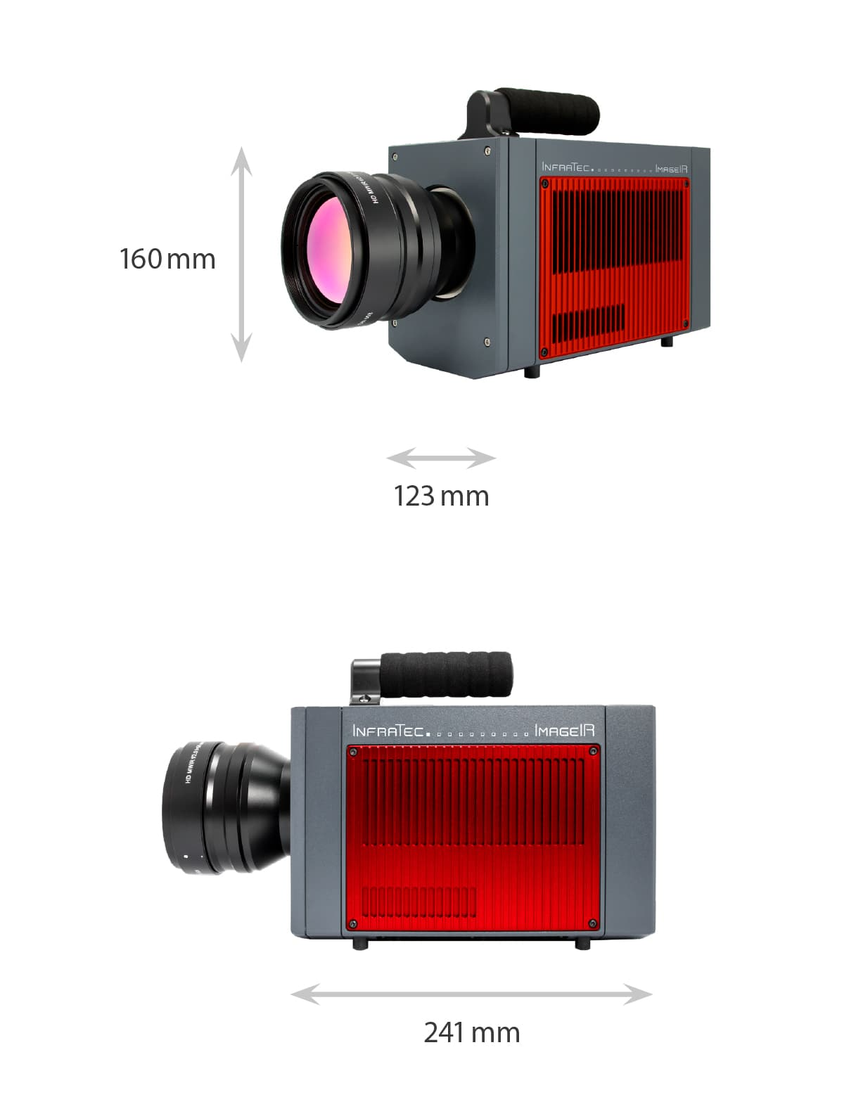 Dimensions of the ImageIR 10300