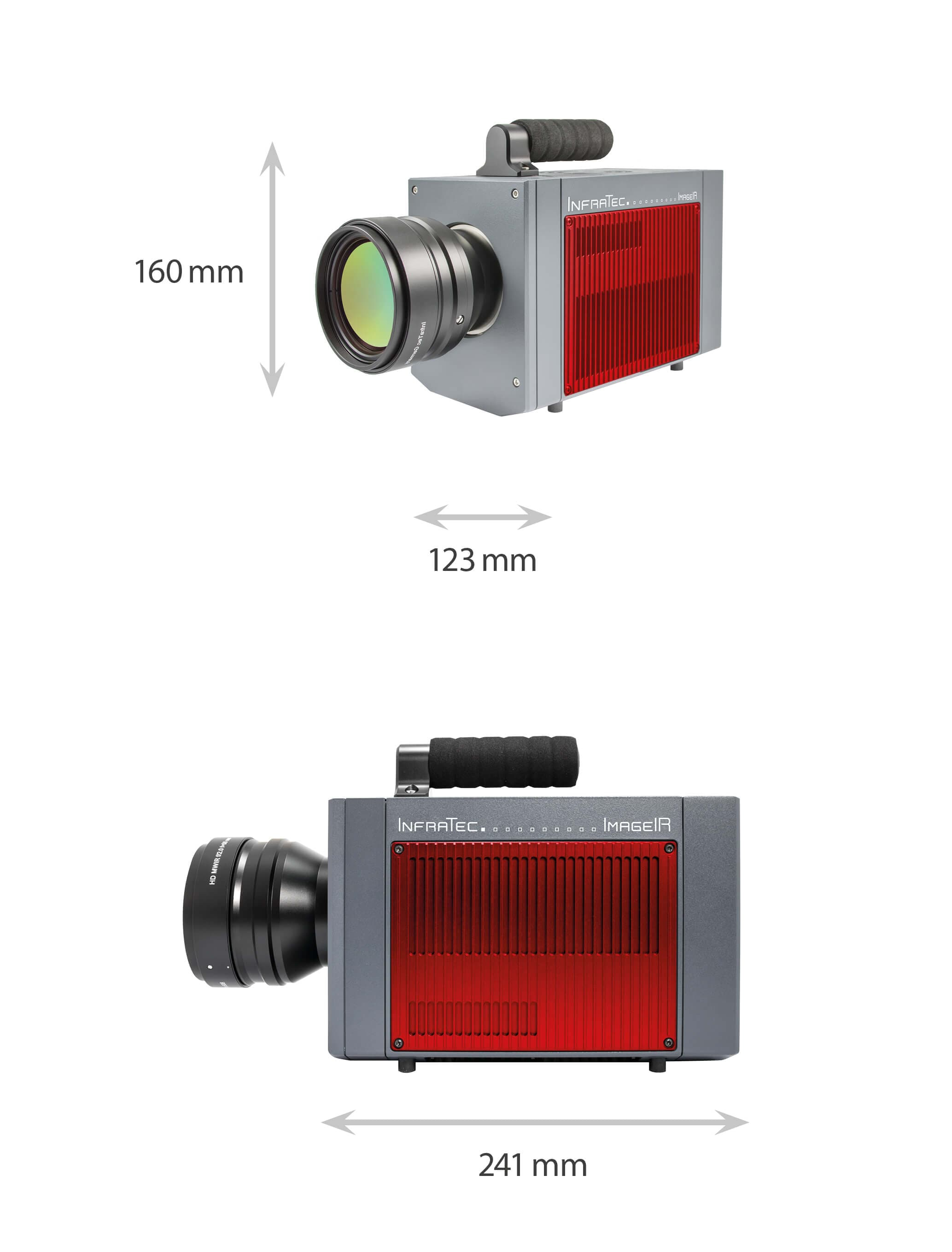 Dimensions of ImageIR series 9500