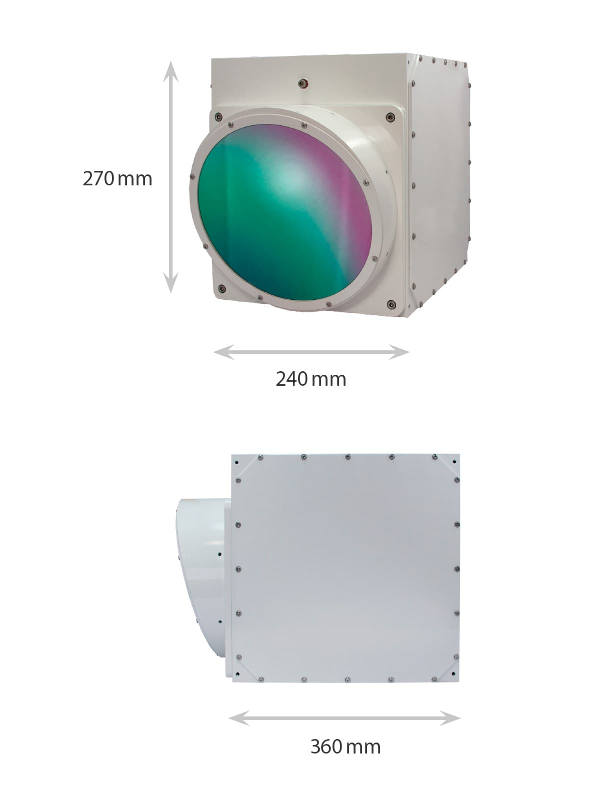 Dimensions of the ImageIR Z