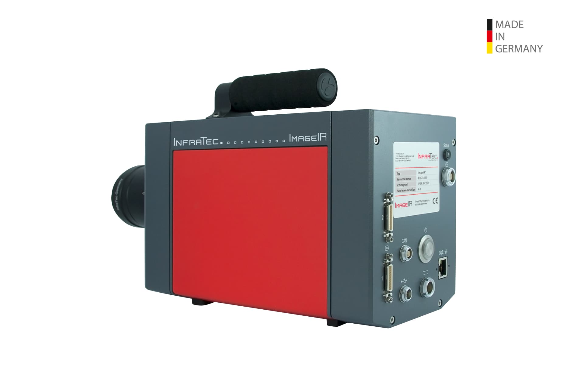 Infrared camera ImageIR® 8300 hp Series from InfraTec