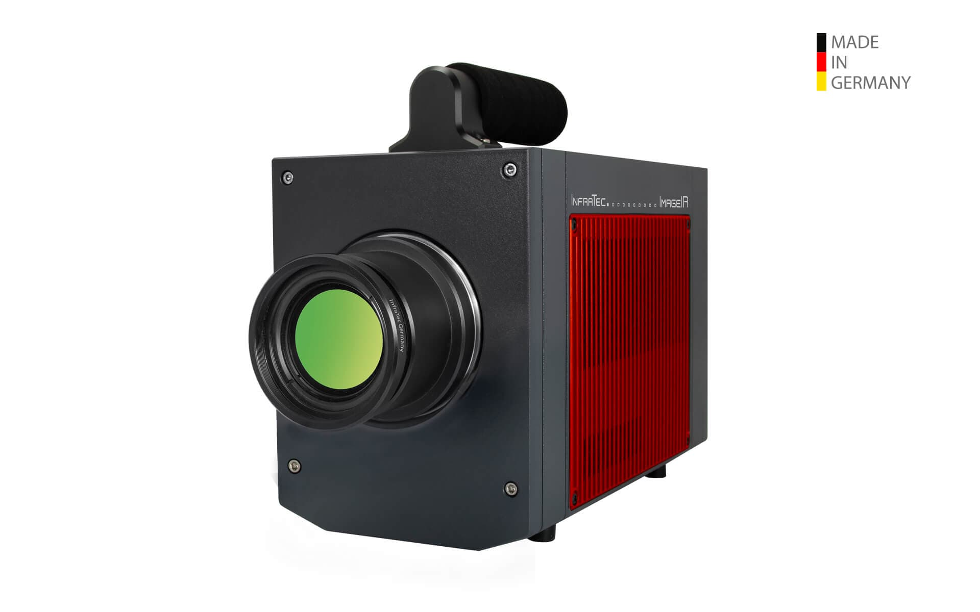 Infrared camera ImageIR® 9400 with thermographic software IRBIS® 3 from InfraTec