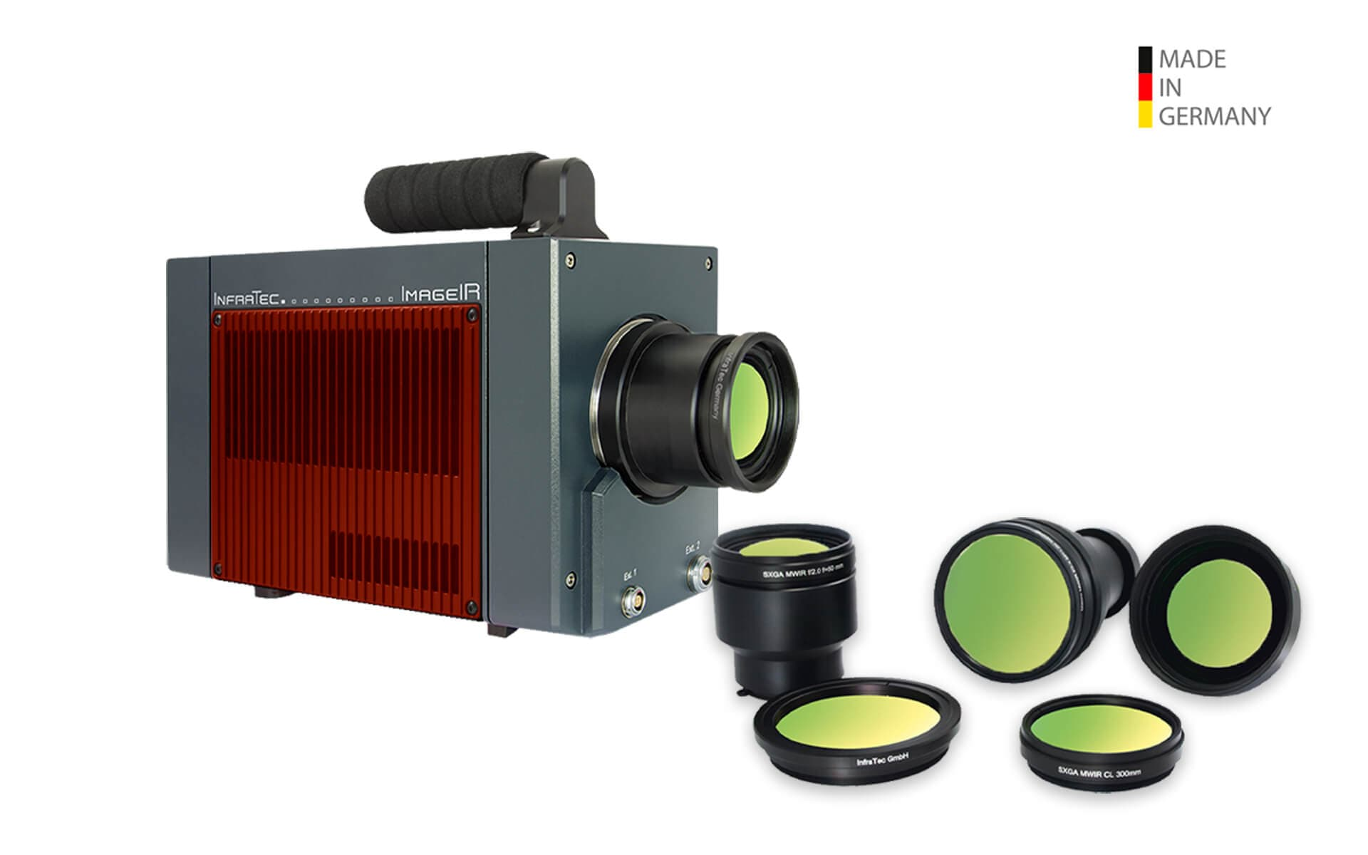 Infrared camera ImageIR® 9400 hp from InfraTec