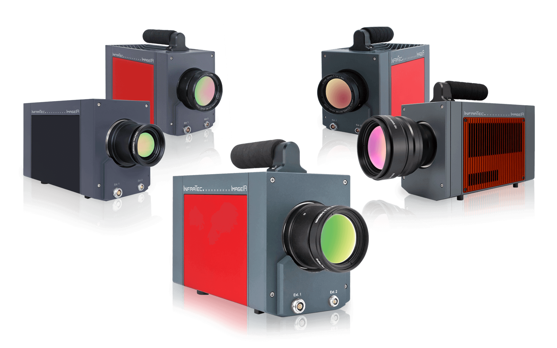 Models of the infrared camera series ImageIR from InfraTec