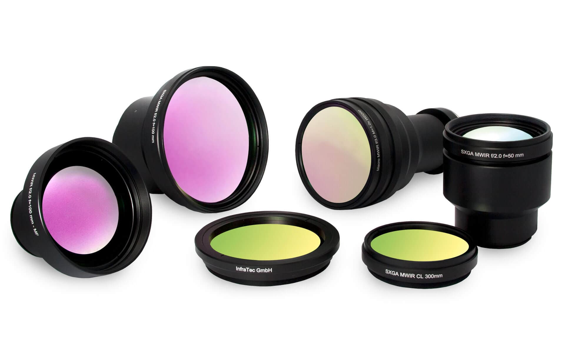Lenses of infrared camera mageir series