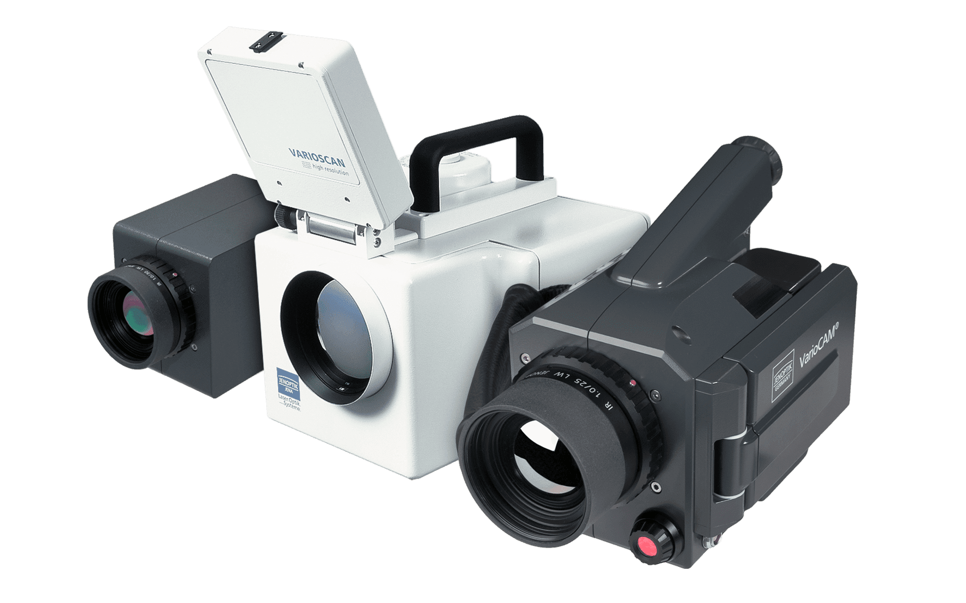 Older infrared camera models from InfraTec