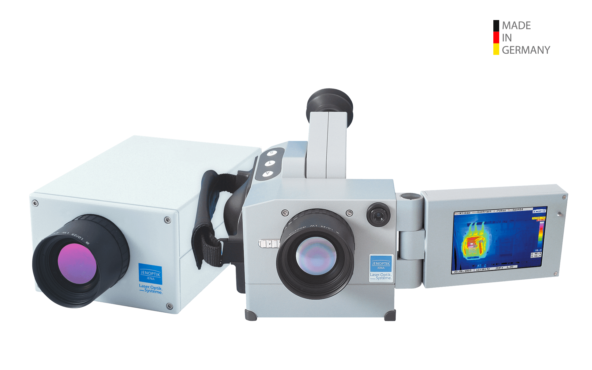 Infrared camera VarioCAM® and VarioCAM® head