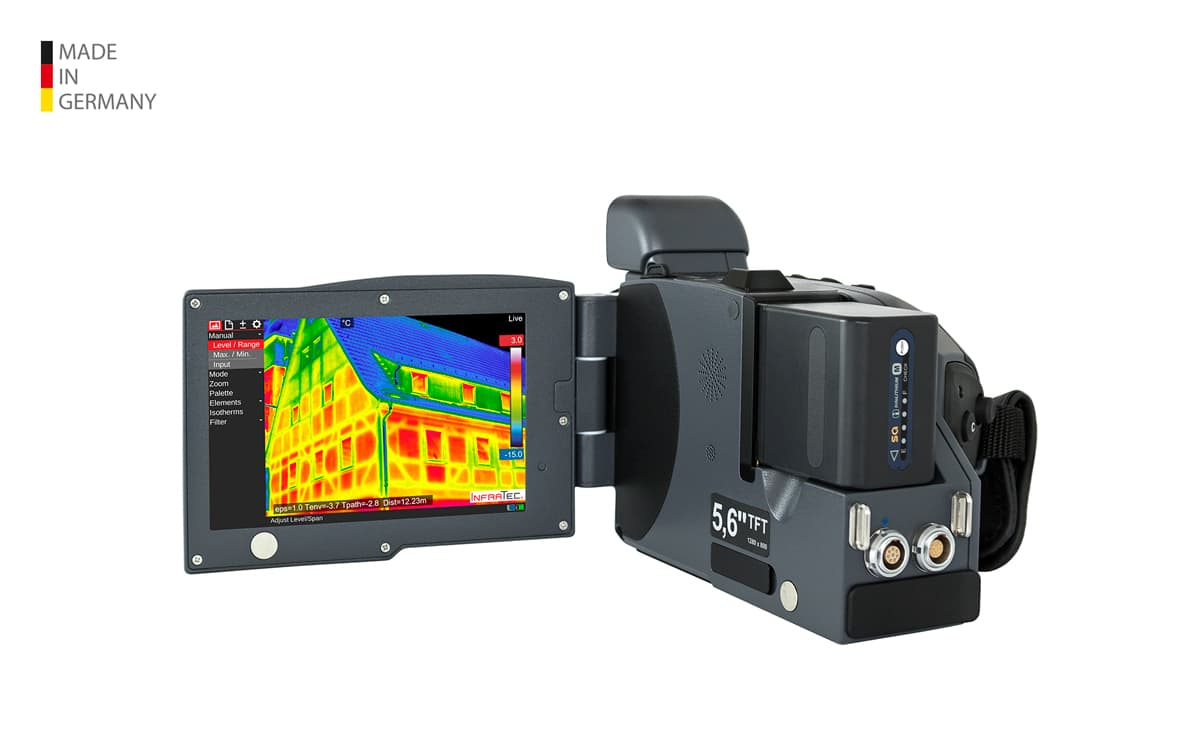 Infrared camera VarioCAM® HDx build from InfraTec