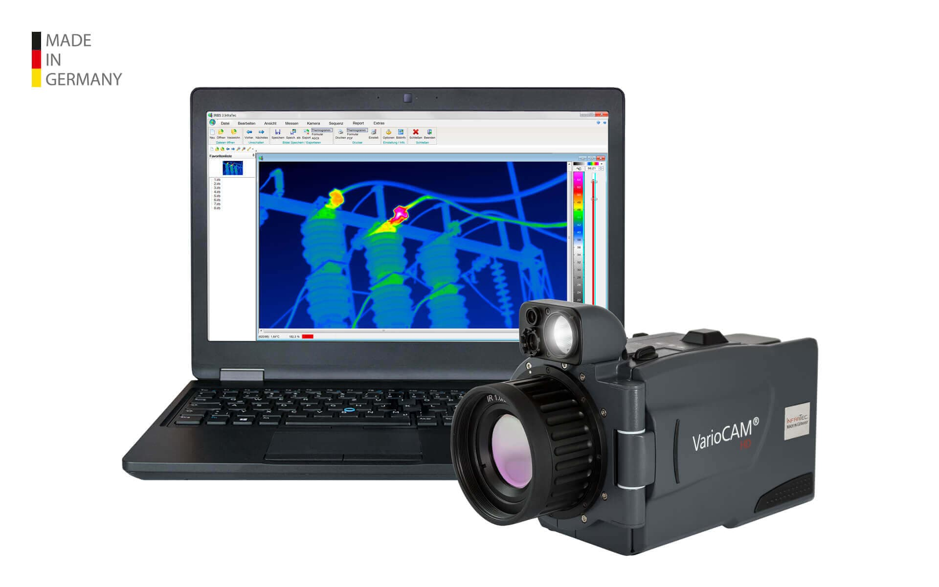 Infrared camera VarioCAM® HDx inspect from InfraTec