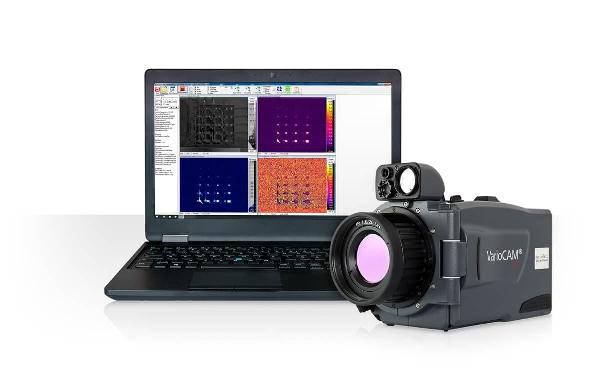 Infrared camera VarioCAM HDx from InfraTec