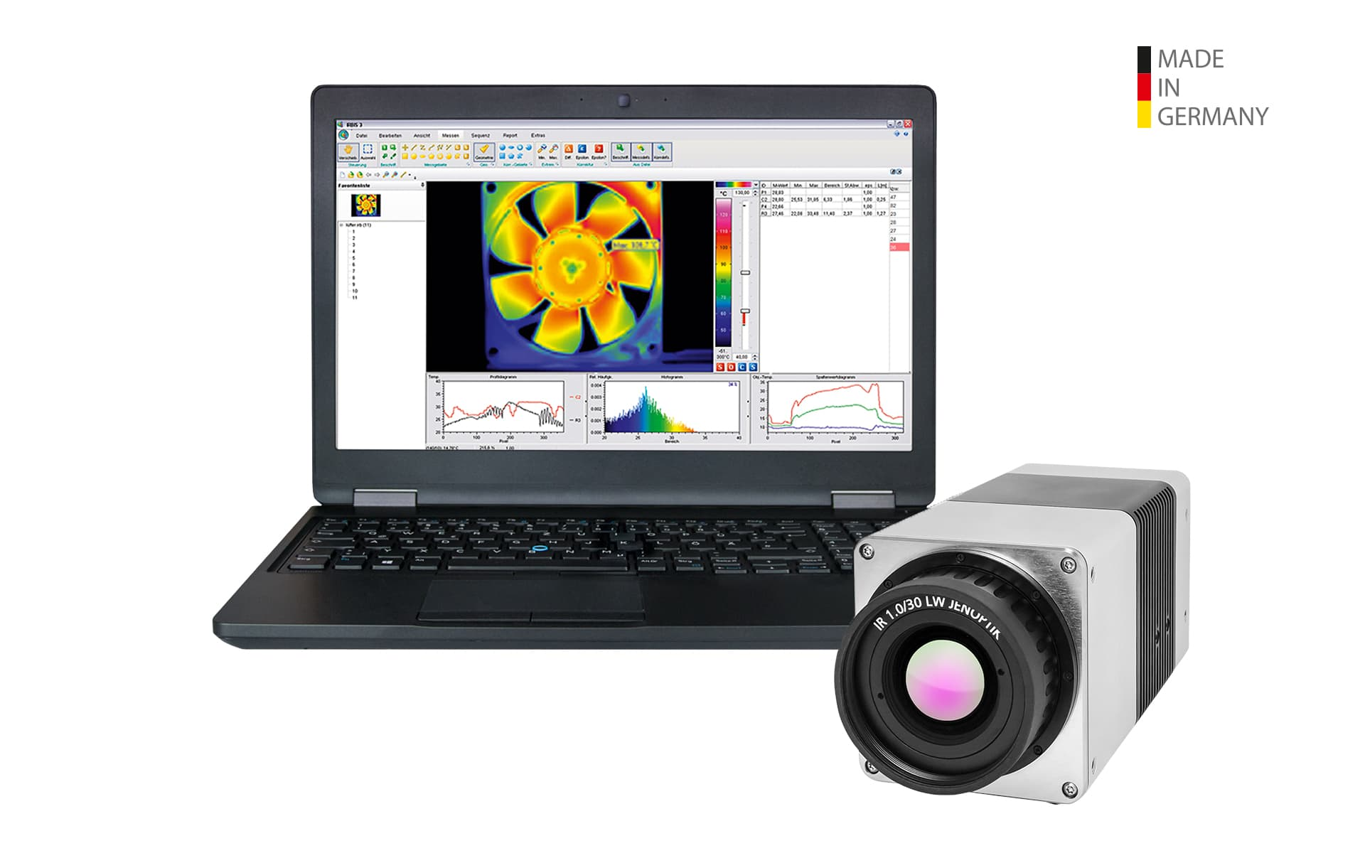 Infrared camera VarioCAM® HD head of InfraTec