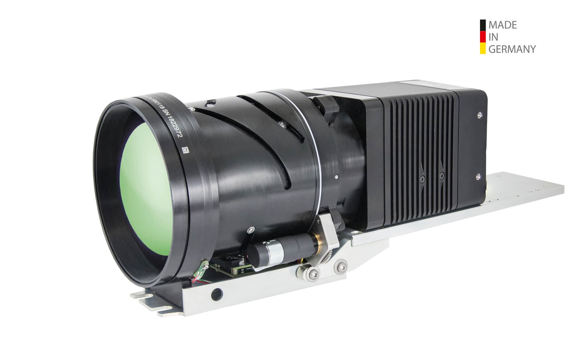 Infrared camera VarioCAM® HD Z security from InfraTec