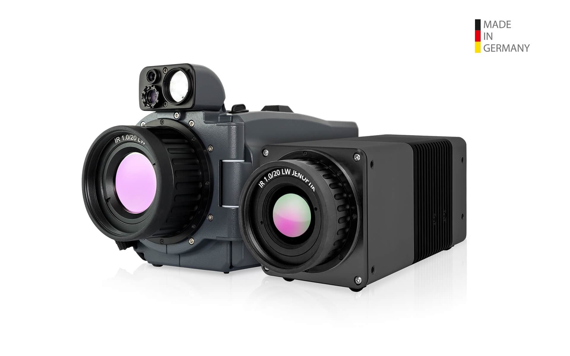 Infrared camera VarioCAM HDx head Lock-in