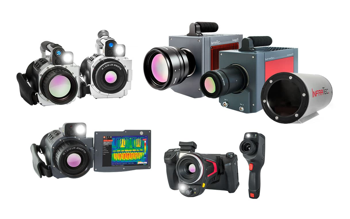 Infrared camera models from InfraTec