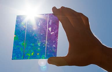 PV-LIT test solution for solar cells