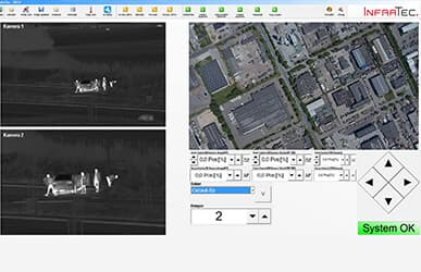 Thermografic automation for site surveillance IROD