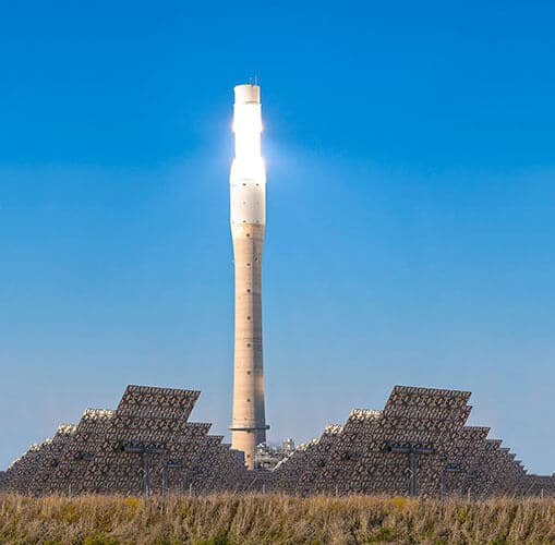 Solar Power Tower Check - Picture credits: © iStock.com / paulrommer