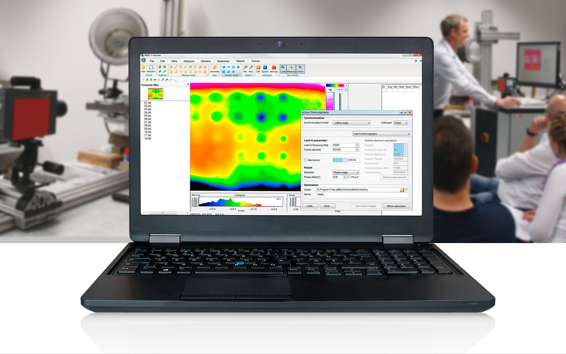 Thermographic Software IRBIS active