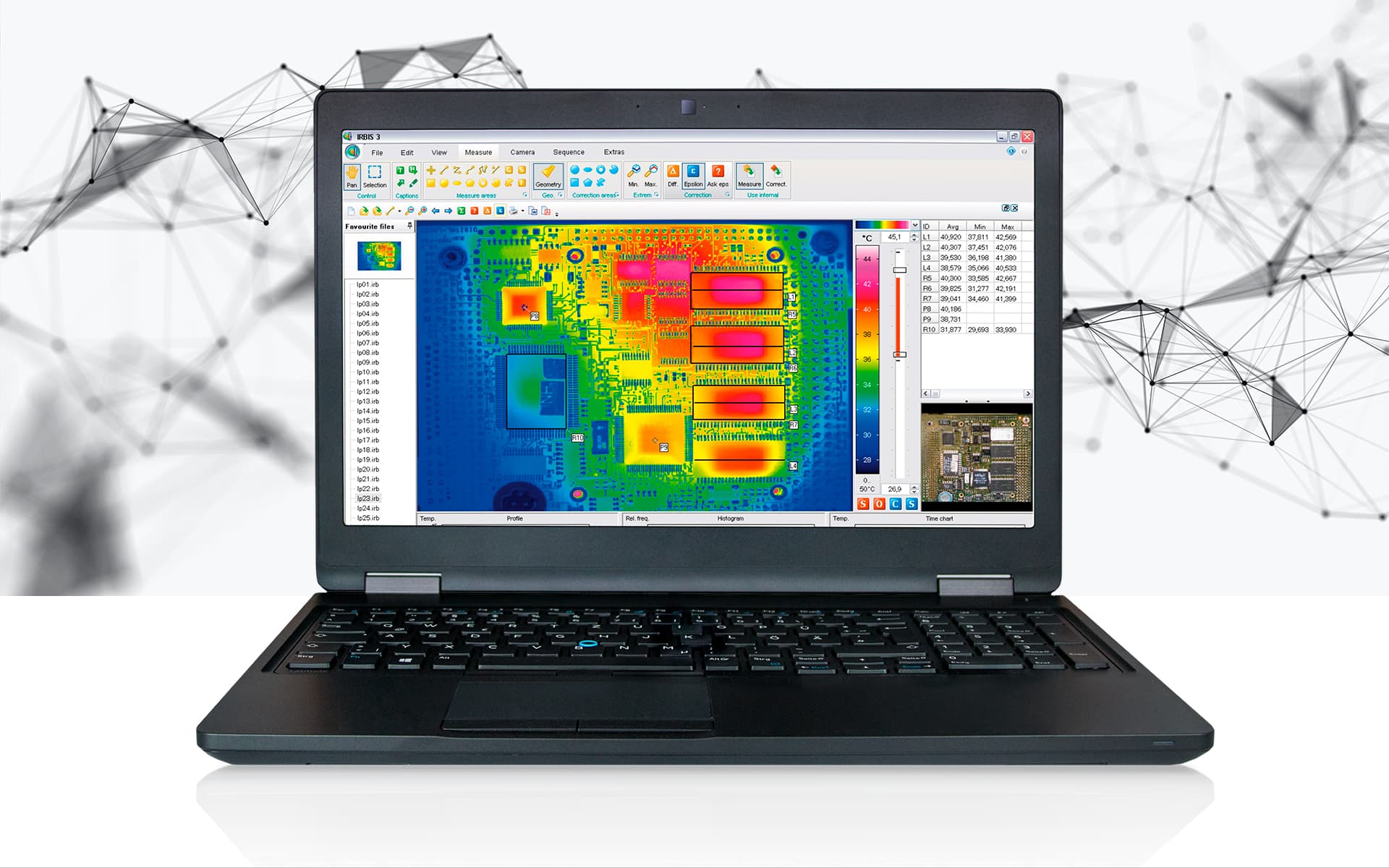 Thermography software IRBIS 3 from InfraTec - Picture Credits: © iStock.com / from2015