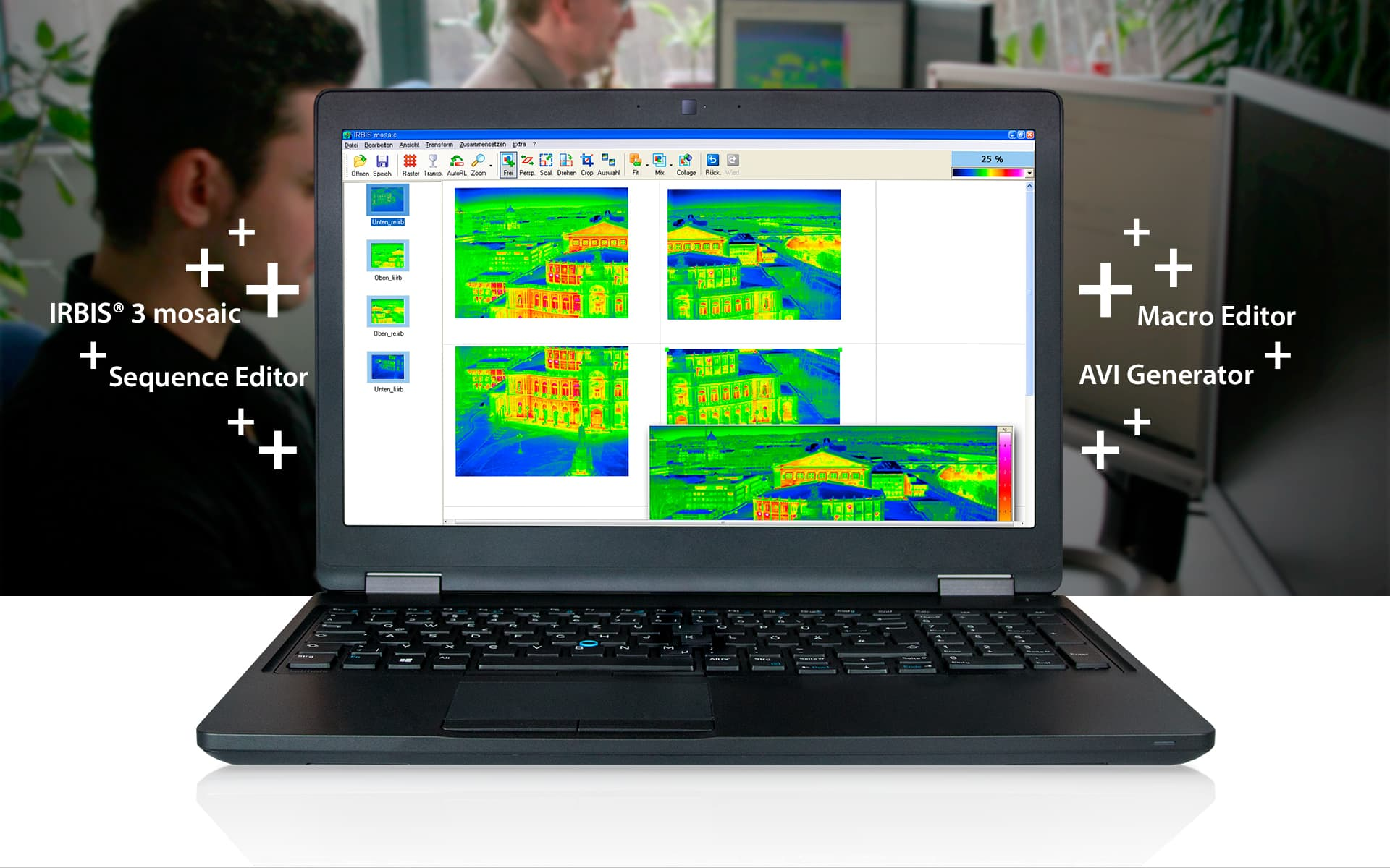 Thermography software IRBIS 3 from InfraTec
