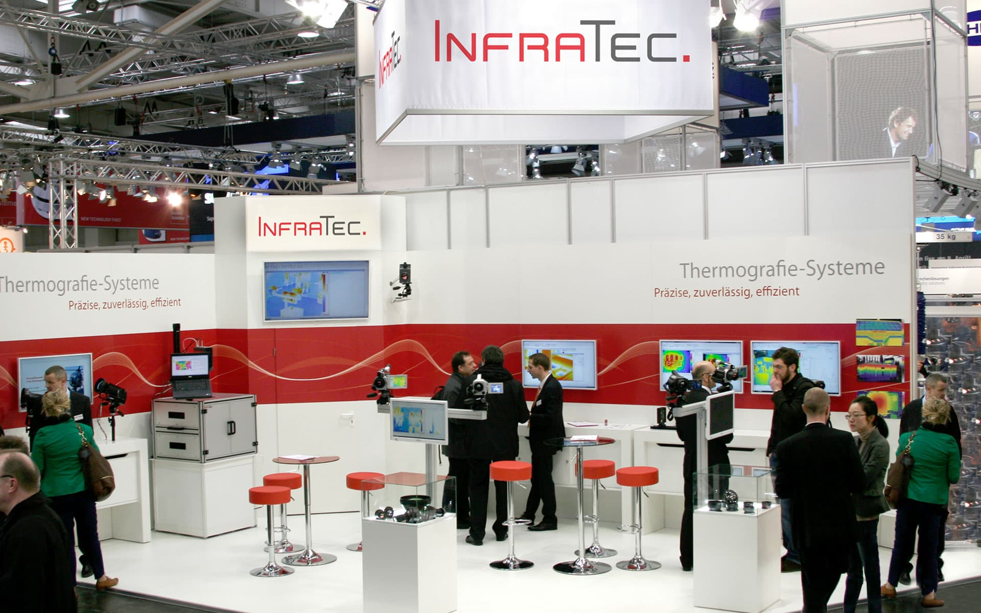 InfraTec Trade Shows & Conferences - Trade Show Booth