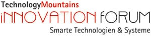 Logo TechnologyMountains iNNOVATION fORUM Smarte Technologien & Systeme